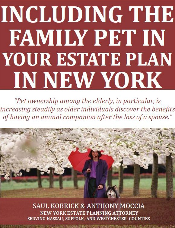 Including the Family Pet in Your Estate Plan in New York