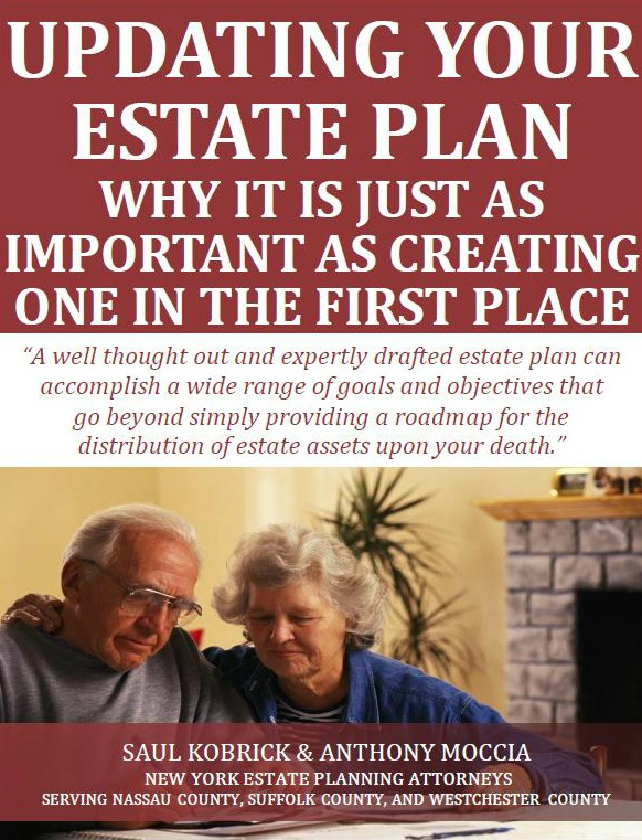 Updating Your Estate Plan: Why It is Just As Important as Creating One in the First Place