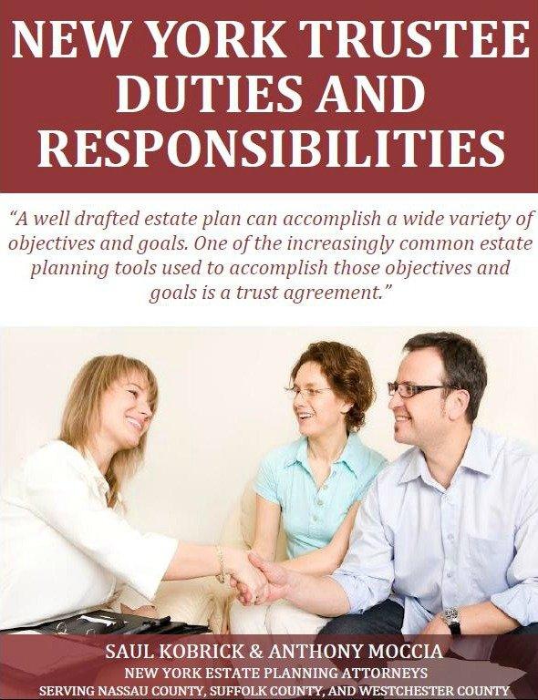 New York Trustee Duties and Responsibilities