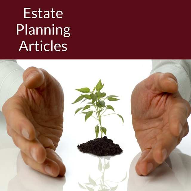 Estate Planning Articles