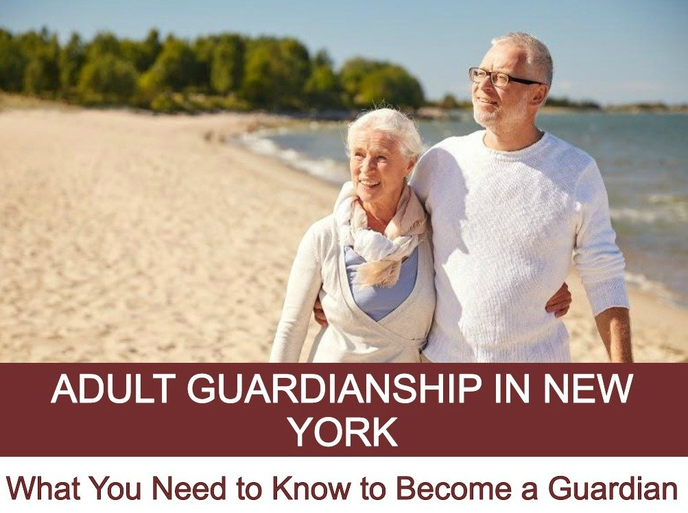 become a legal guardia adult
