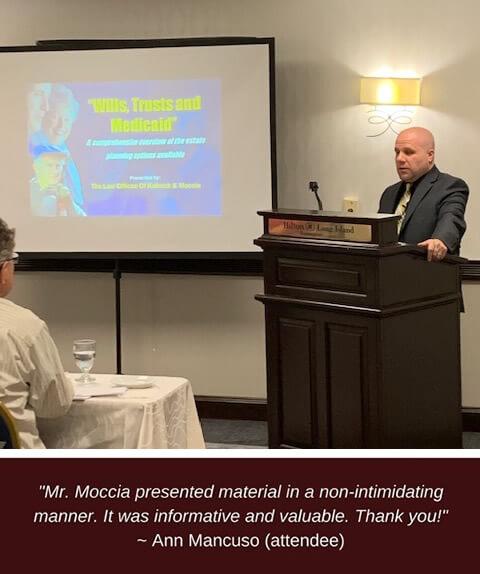 kobrick in a seminar